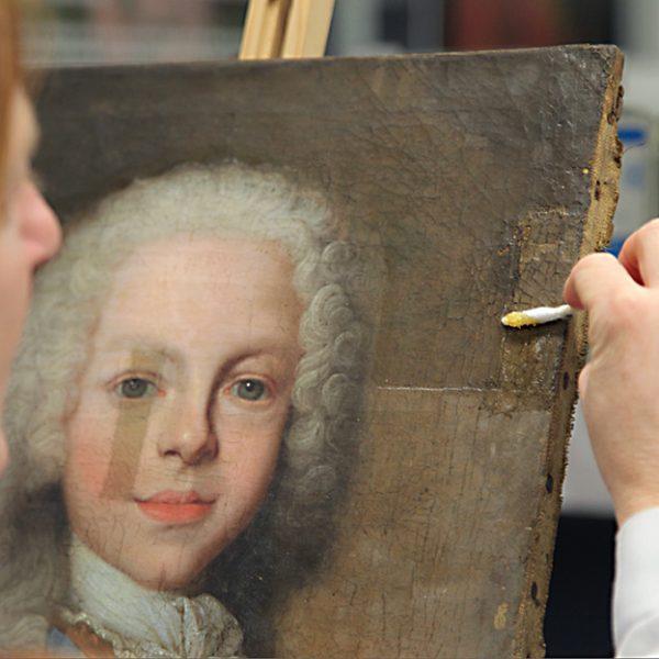 Retrato de Fernando VI niño