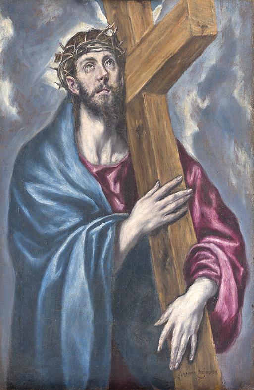 Crist amb la creu a coll