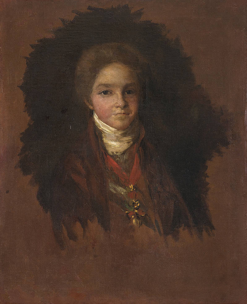 Portrait of the Infant Carlos María Isidro de Borbón