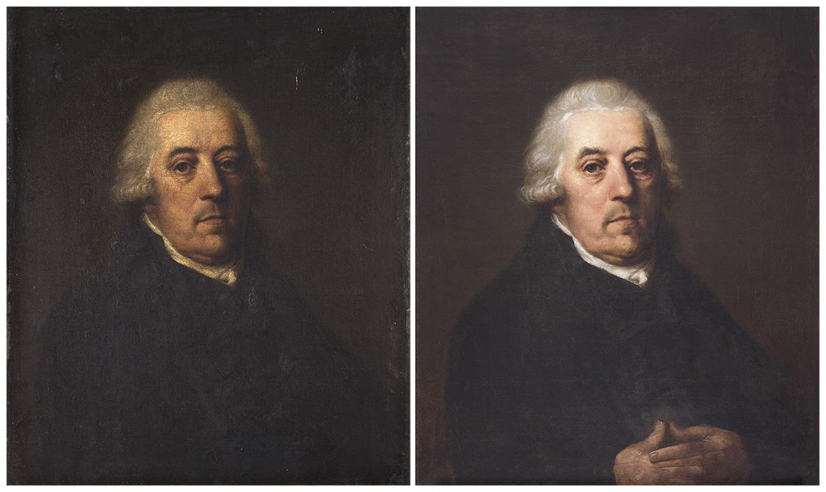 Male portrait_comparative