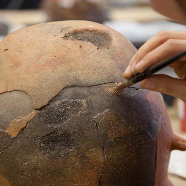 Procés restauració arqueològica 4