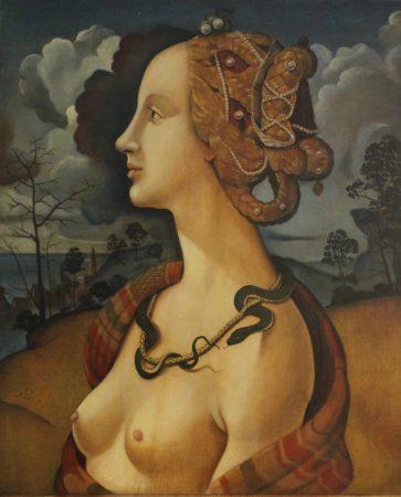 Simonetta Vespucci copia Piero di Cosimo