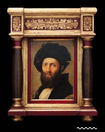 Baldasare Castiglione. Còpia a partir de Rafael Sanzio