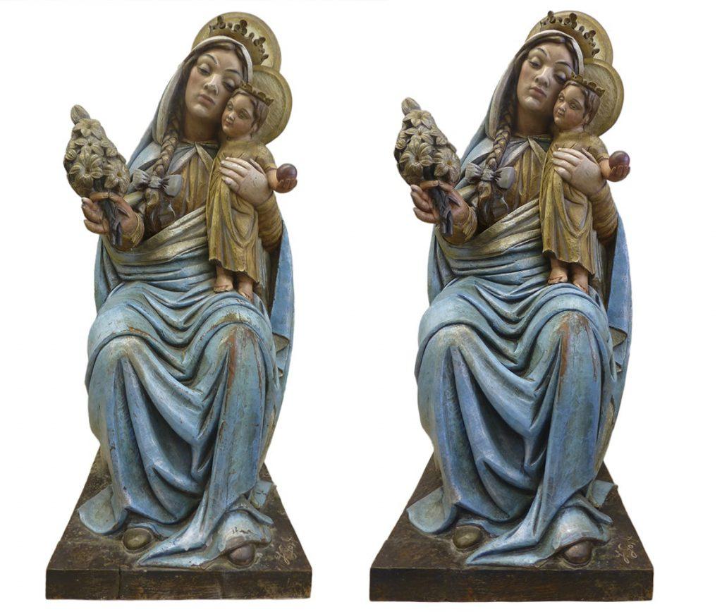 Restauración Vigen María Grenyana