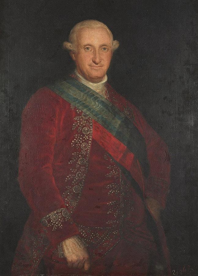 Retrato de Carlos IV goya