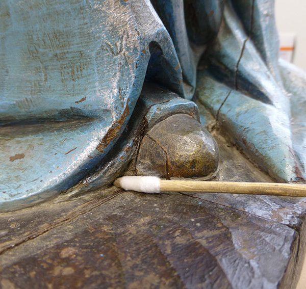 Restauración proceso Virgen Grenyana 2