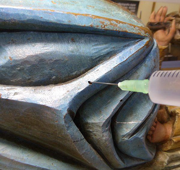 Restauración proceso Virgen Grenyana 3