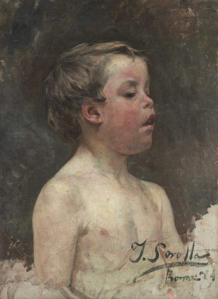 Retrat de nen