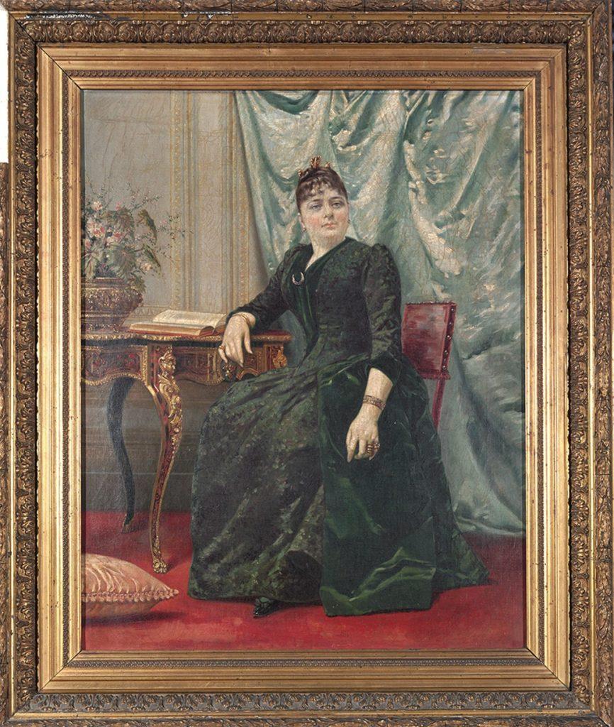 Retrato de la marquesa de la Torre y Salinas de Sotomayor