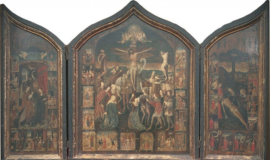 Triptych of the Passion