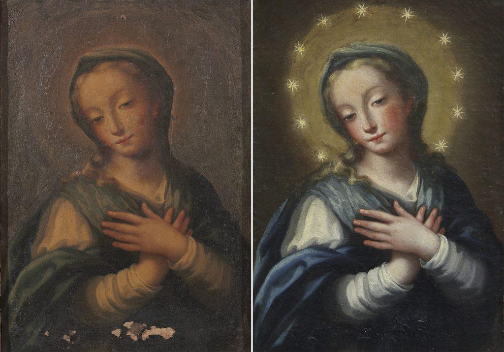 Inmaculada Concepción. Atribuido a José Risueño Óleo