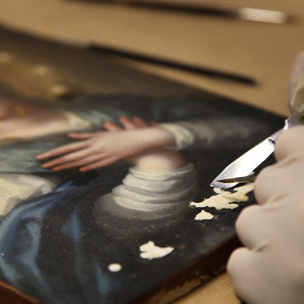 Inmaculada Concepción proceso restauración 3