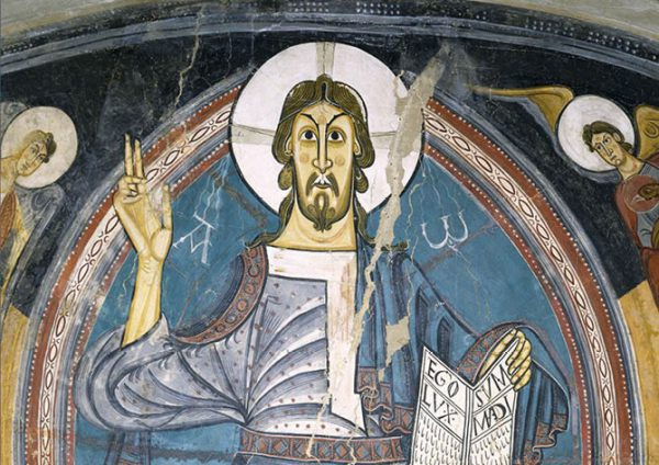 The Pantocrator of Sant Climent de Taüll