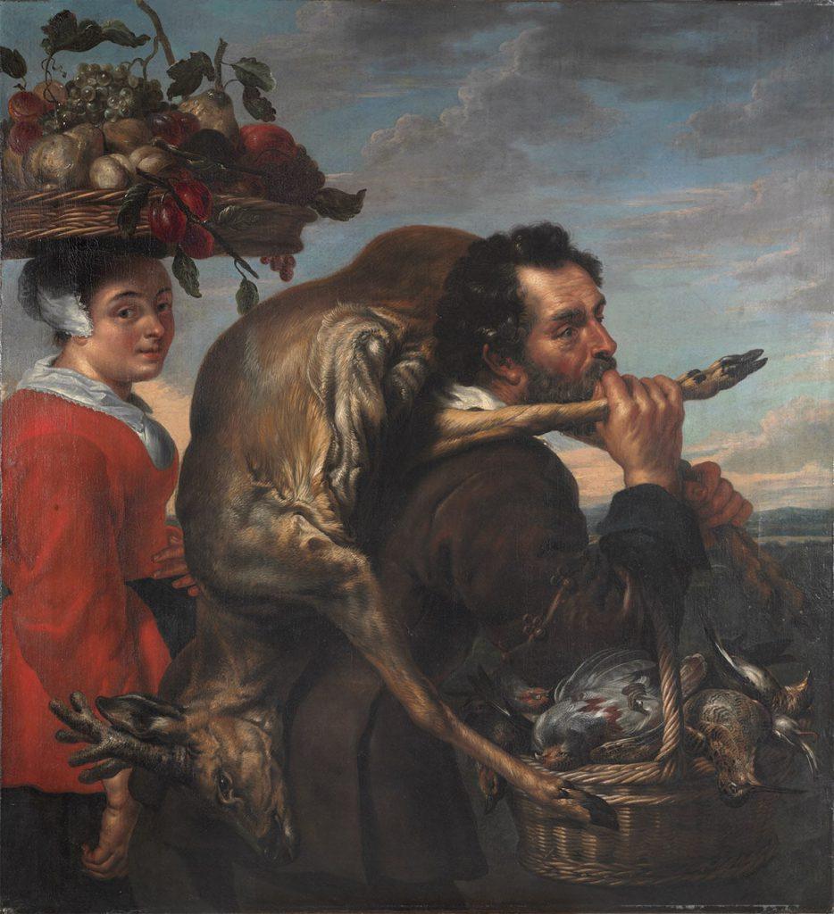 Pareja de Granjeros autor Cornelis de Vos