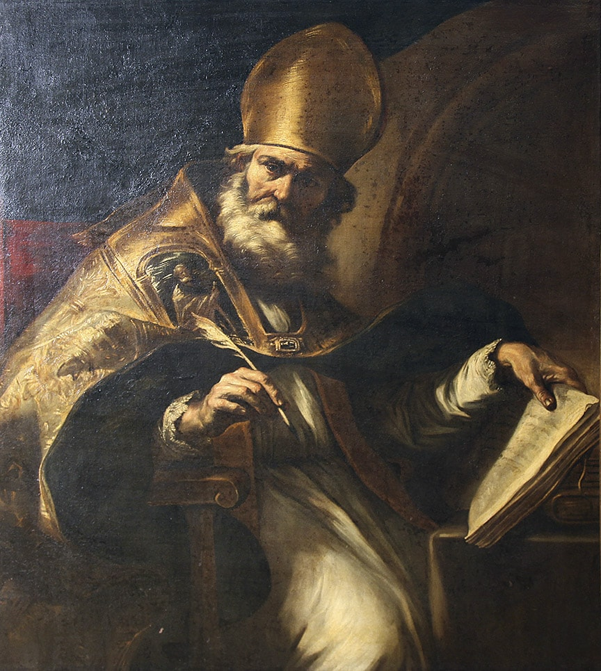 San Agusti autor Giovan Battista Beinaschi