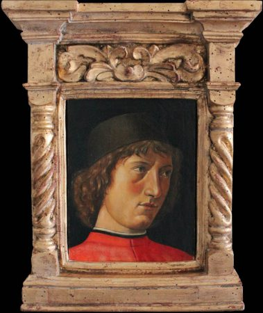 Reproduction of Portrait of a young man