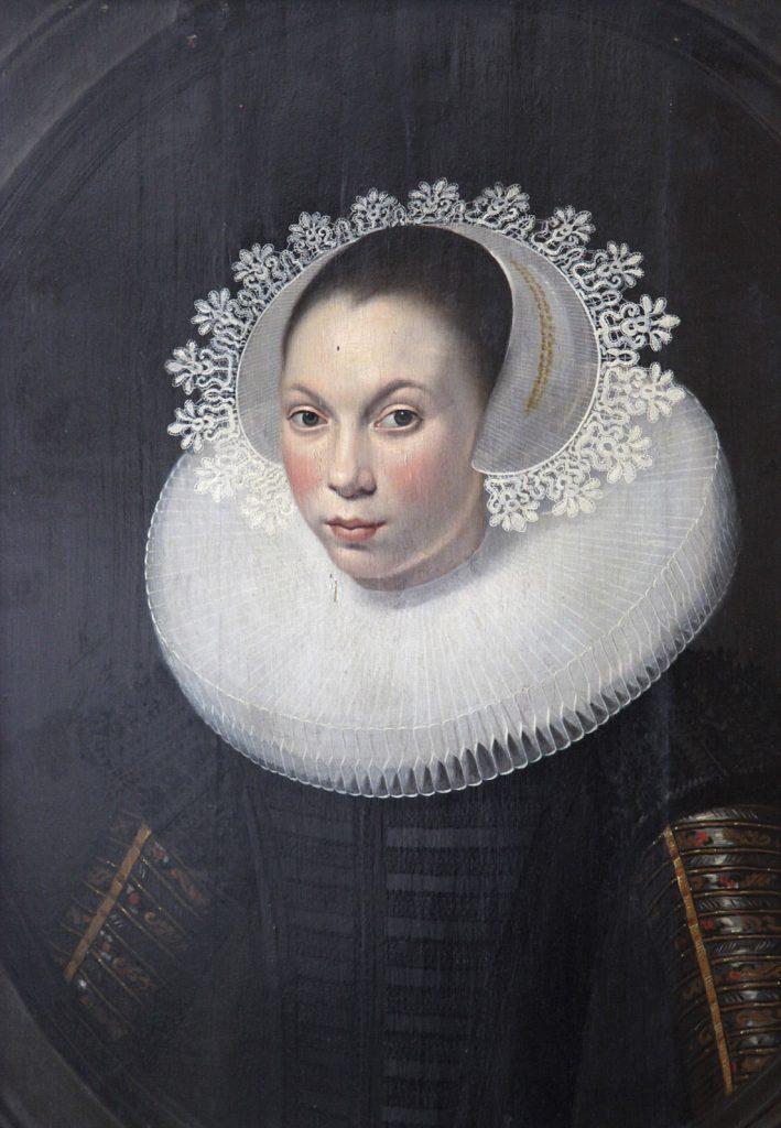 retrato femenino de una chica joven
