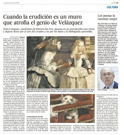 Velázquez El País