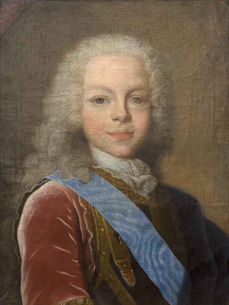 Retrat de Ferran VI nen