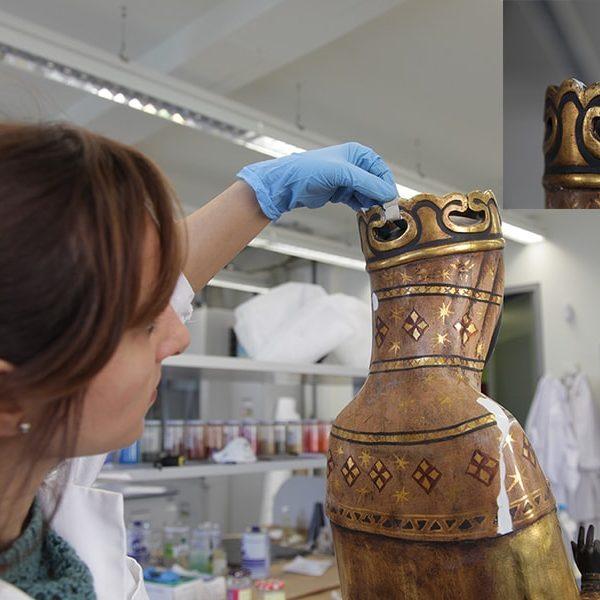 Restauración corona Moreneta