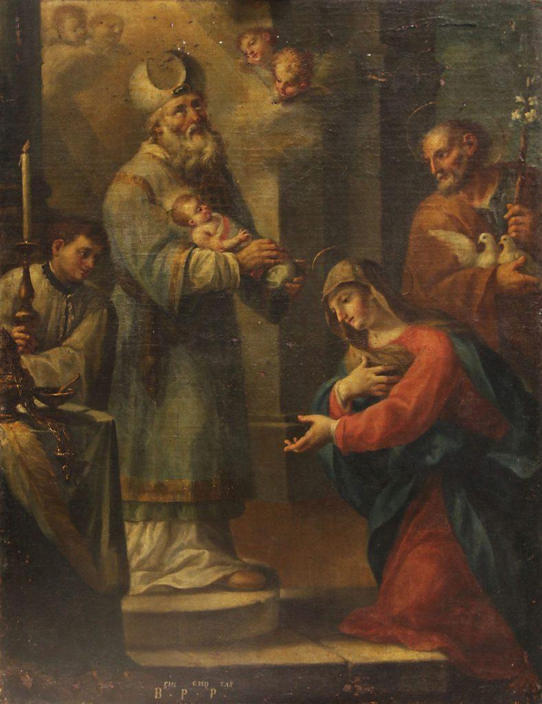 Presentació del nen Jesús al Temple
