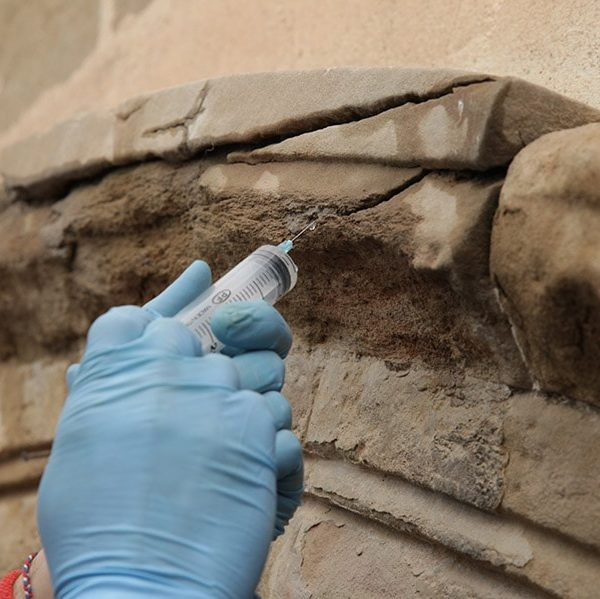 Restauració de la Portalada Romànica de l'Església de Sant Martí, Lleida 1