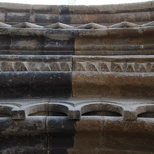 Restauració de la Portalada Romànica de l'Església de Sant Martí, Lleida 4