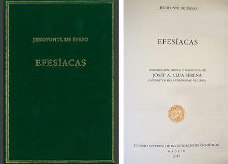 Dr. Clúa Efesíacas de Jenofonte