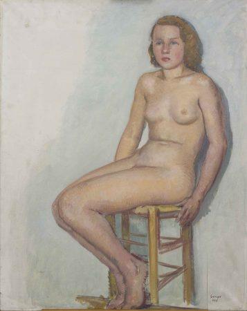 joaquim sunyer desnudo femenino