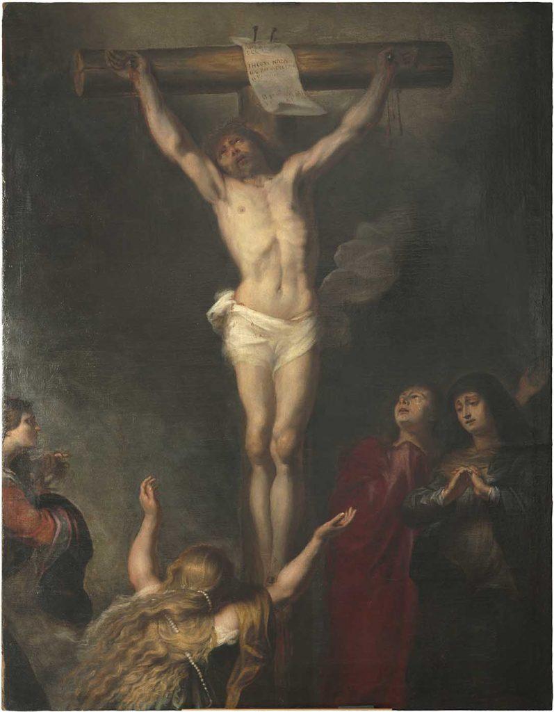 Crucifixió Taller o cercle d'Anton Van Dyck