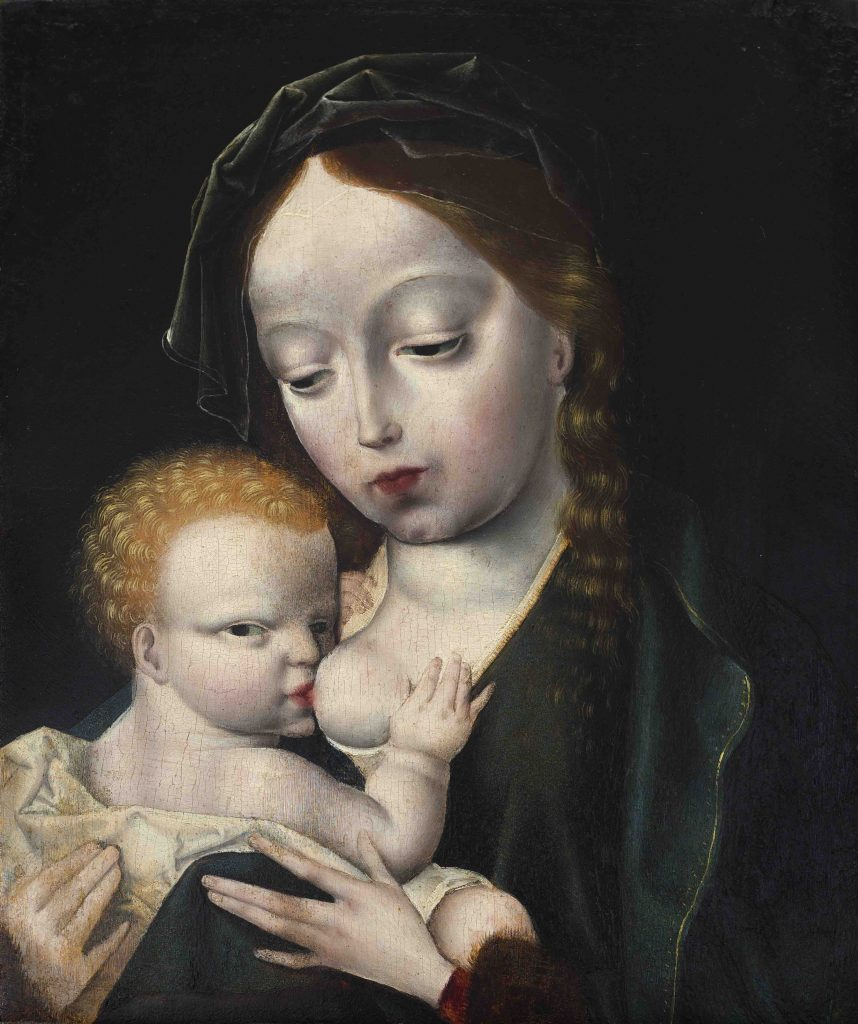 Virgin of the milk