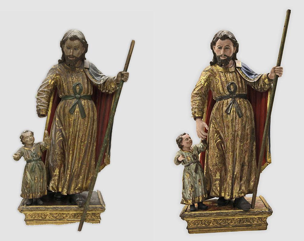 Sanit Joseph with Christ Child