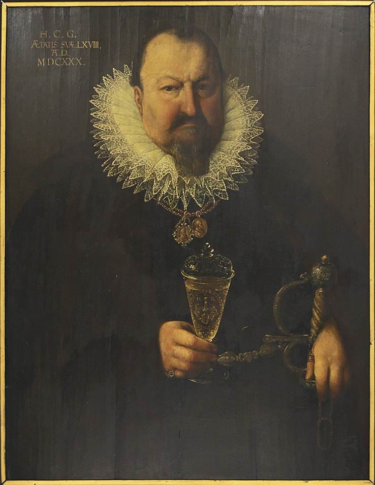 Portrait of Johann Christoph Gugel